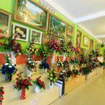 Showroom hoa nghệ thuật Đà Lạt