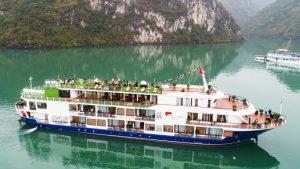 Du thuyền Mon Cheri - Toàn cảnh du thuyền