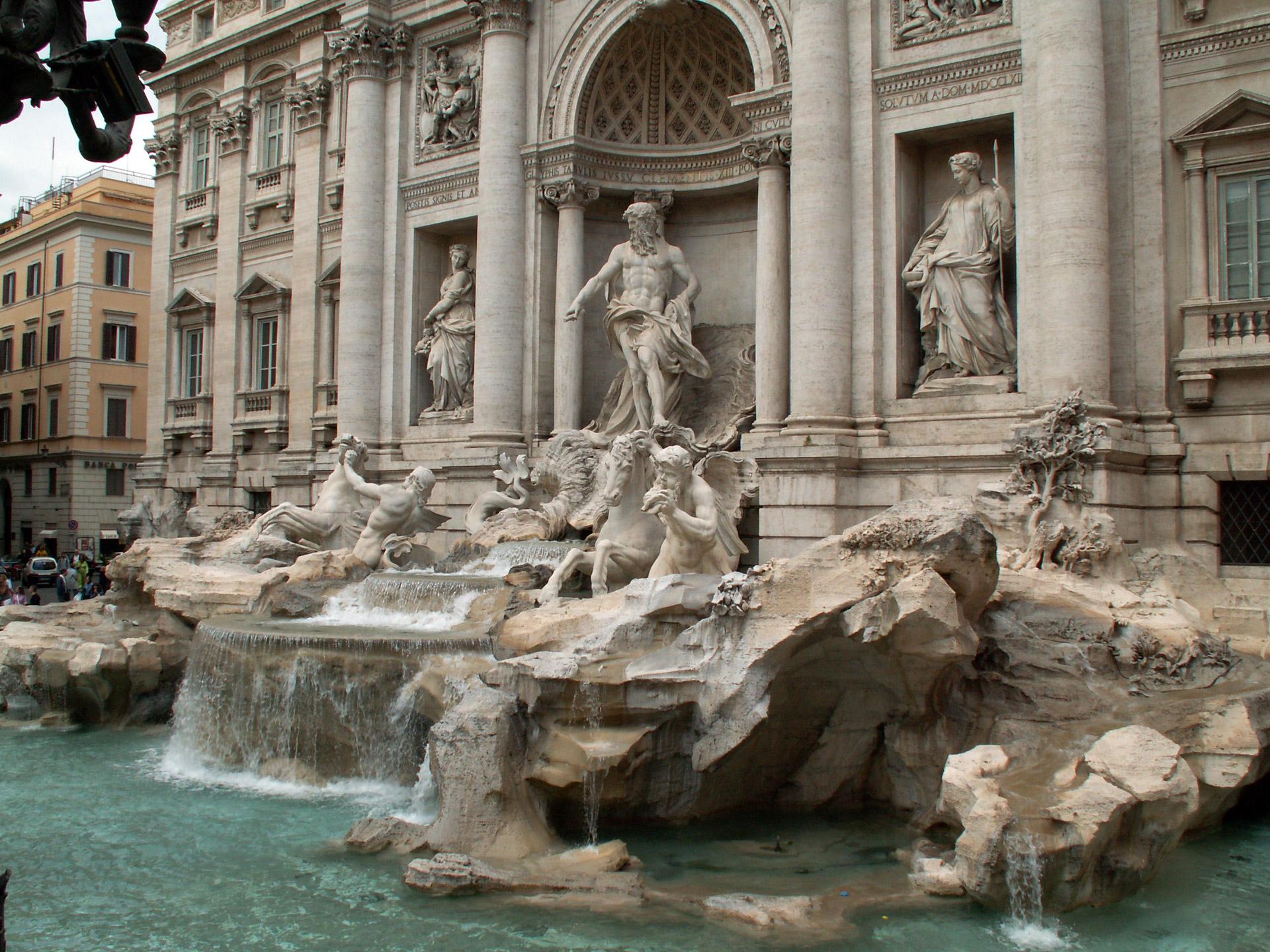 Hành trình khám phá Châu Âu 10N9Đ - Đài phun nước Trevi Fountain