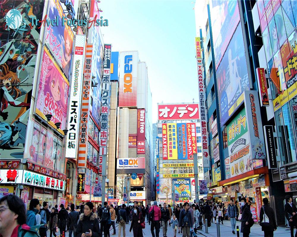 Tour Nhật Bản khởi hành từ HN: Tokyo – Phú Sỹ – Toyohashi – Kyoto – Osaka 6N5Đ