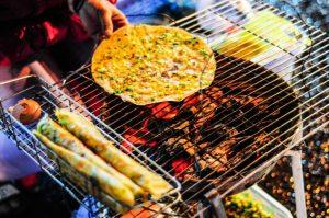 Địa chỉ ăn uống khi du lịch Đà Lạt - Bánh tráng nướng