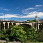 Hành trình khám phá Tây Âu 8N7Đ - Cầu Adolphe