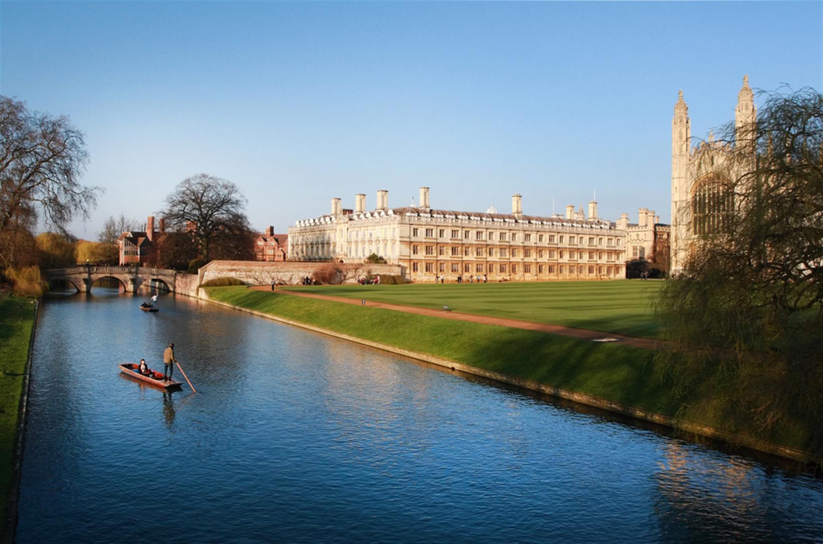 Hành trình du lịch Anh - Scotland 10N9Đ - Chèo thuyền tại Cambridge