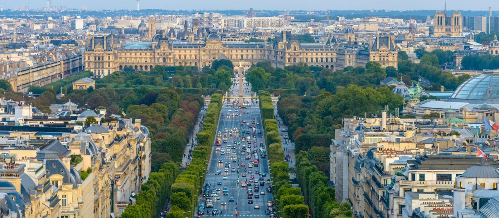 Hành trình khám phá Châu Âu 10N9Đ - Champs Elysees– Đại lộ Thiên Đàng
