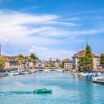 Hành trình khám phá Châu Âu 10N9Đ - Hồ Zurich