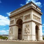 Hành trình khám phá Châu Âu 10N9Đ - Khải Hoàn Môn Paris