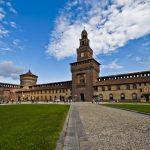Hành trình khám phá Châu Âu 10N9Đ - Lâu đài Sforzesco