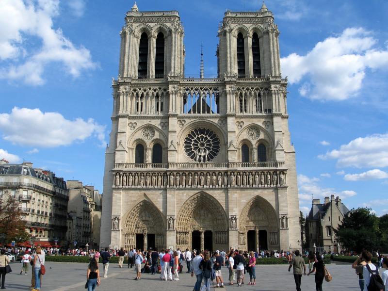 Hành trình khám phá Châu Âu 10N9Đ - Nhà thờ Đức Bà Reims