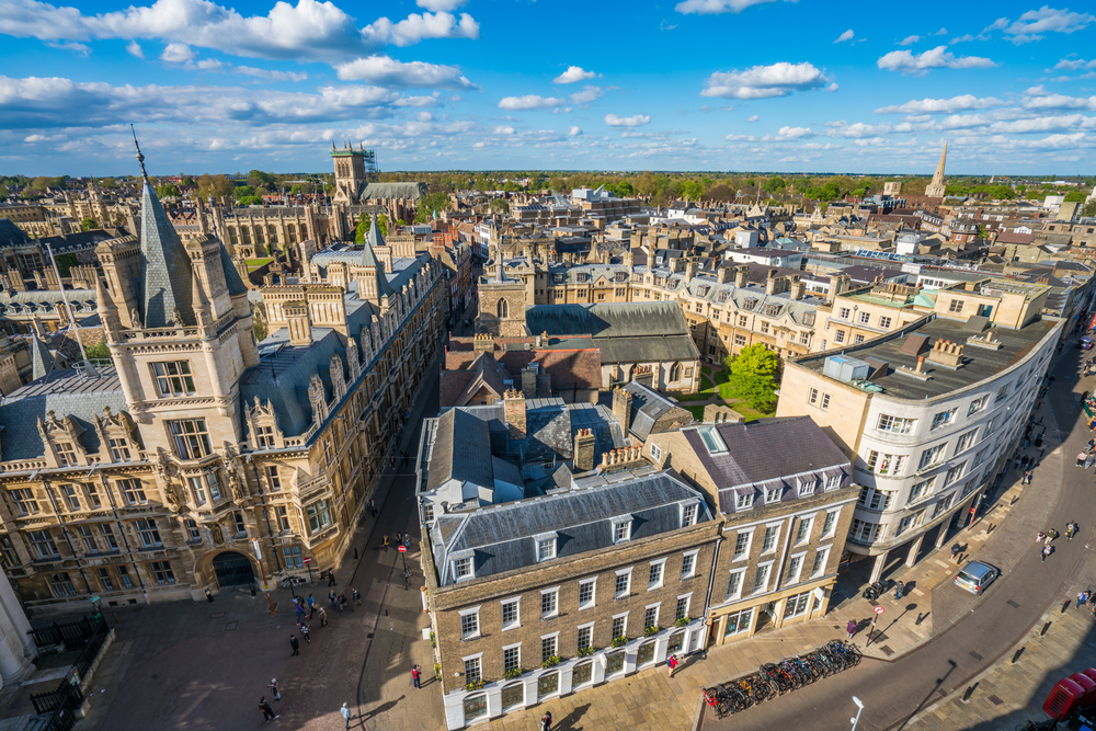 Hành trình du lịch Anh - Scotland 10N9Đ - Thành phố Cambridge