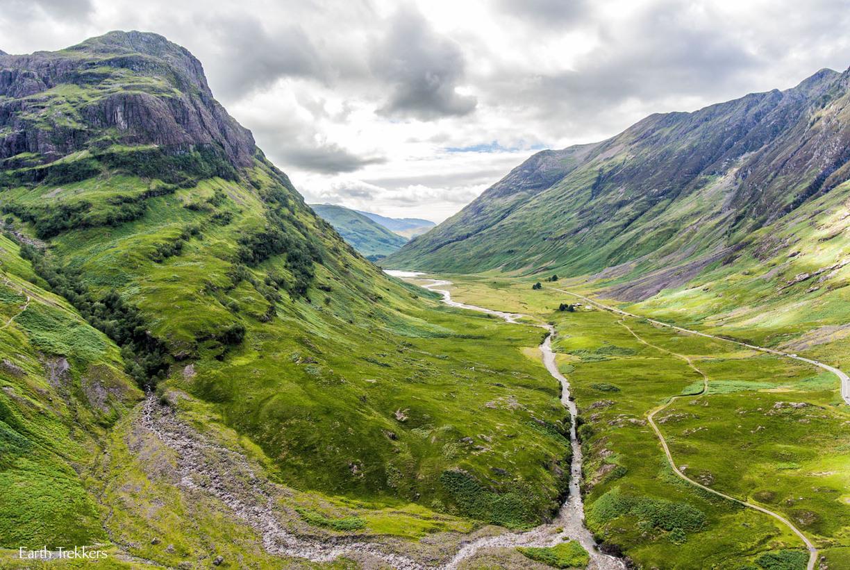 Hành trình du lịch Anh - Scotland 10N9Đ - Thung lũng Glencoe