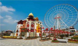 Địa điểm vui chơi Đà Nẵng - Vòng quay Mặt Trời - Công viên Asia Park