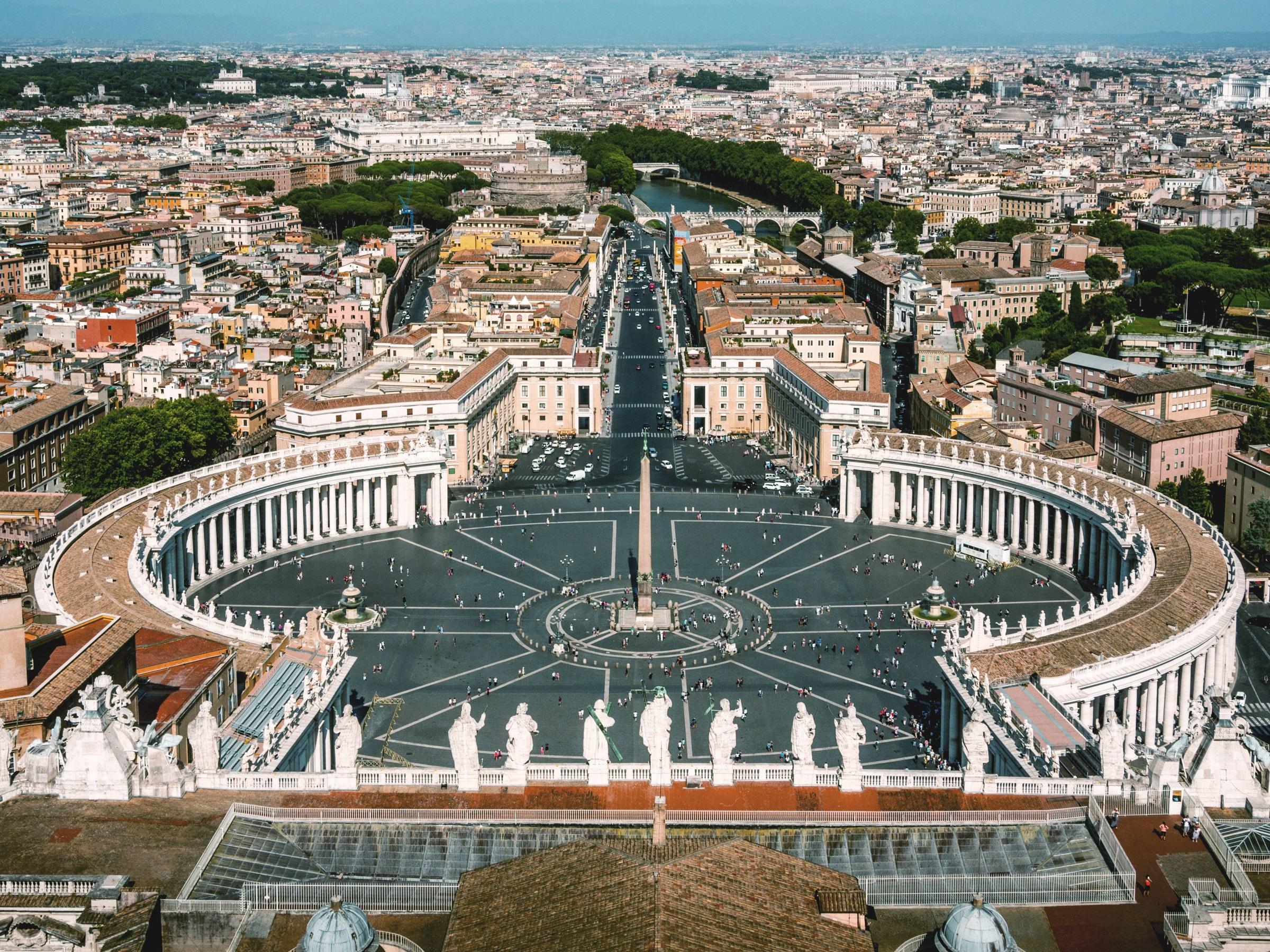 Hành trình khám phá Châu Âu 10N9Đ - Vatican