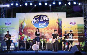 Khu chợ ăn vặt ở Đà Nẵng - Biểu diễn âm nhạc tại chợ đêm Helio