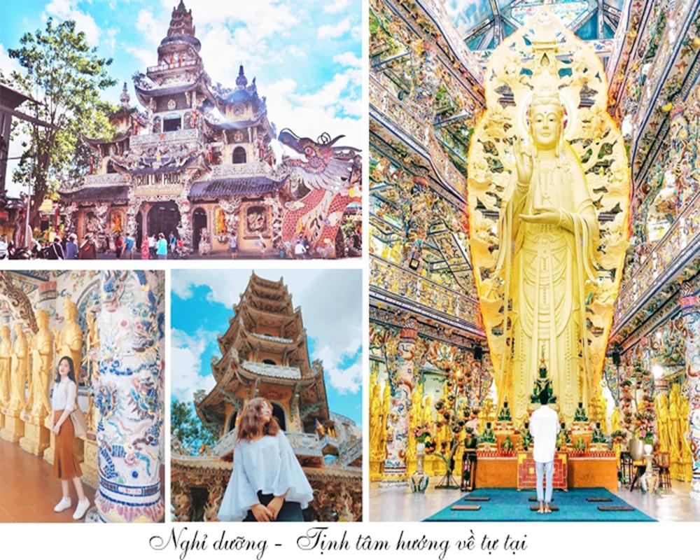 Tour Du Lịch Đà Lạt 3 Ngày 3 Đêm: Vườn Hoa Cẩm Tú Cầu - Hoa Sơn Điền Trang