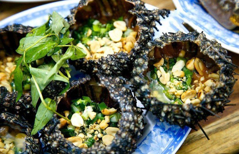 Món ngon Phú Quốc - Nhum nướng
