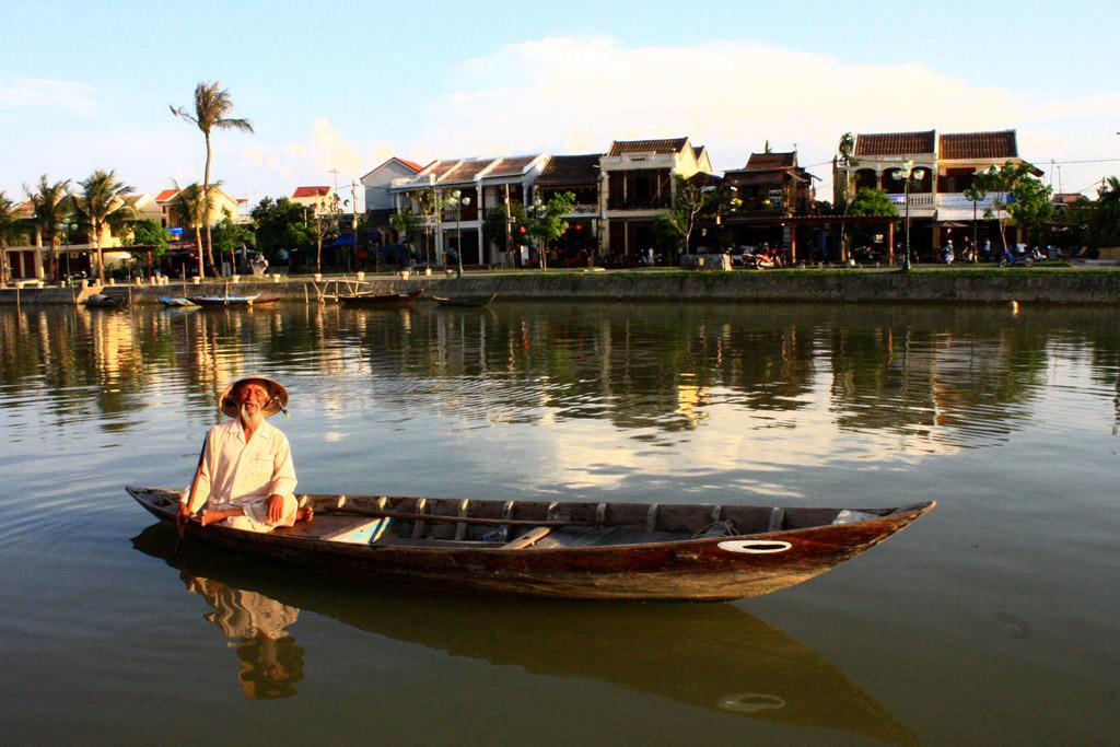 Địa điểm du lịch Hội An - Sông Hoài