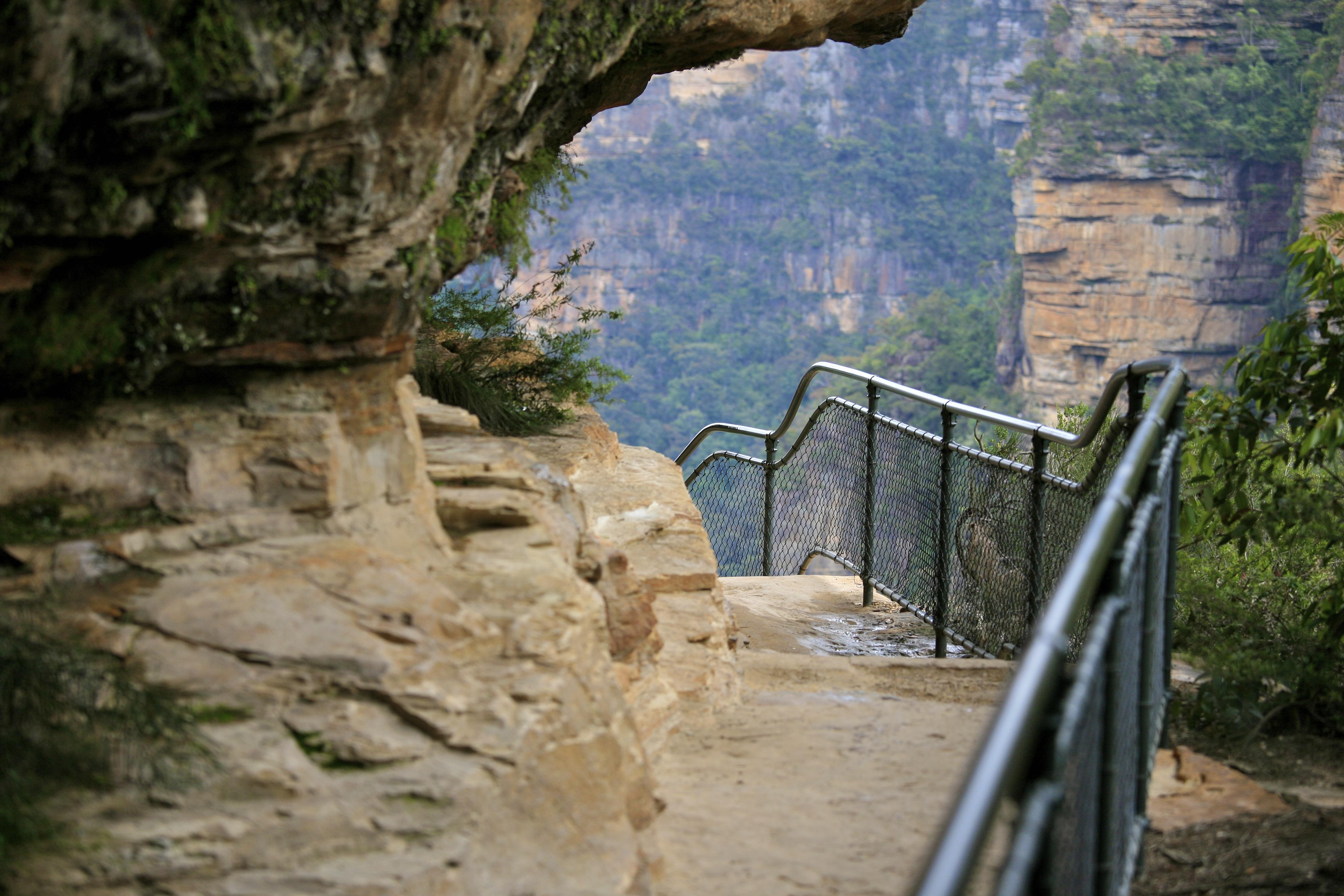Đường đi xuống Thác nước Wentworth Falls - Blue Mountains