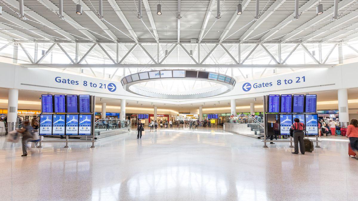 Sân bay JFK - Du lịch Mỹ Tết 2019