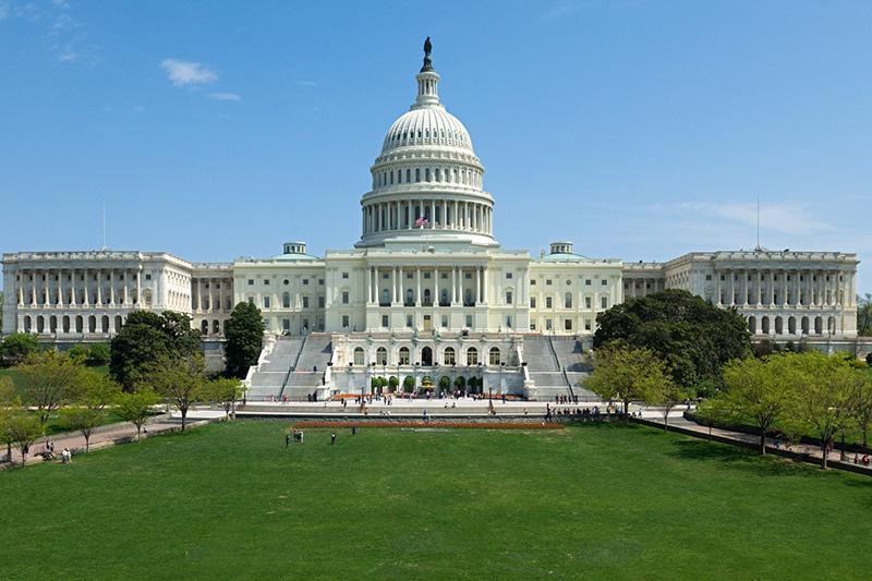 Tòa nhà Quốc hội Mỹ - Du lịch Mỹ Tết 2019