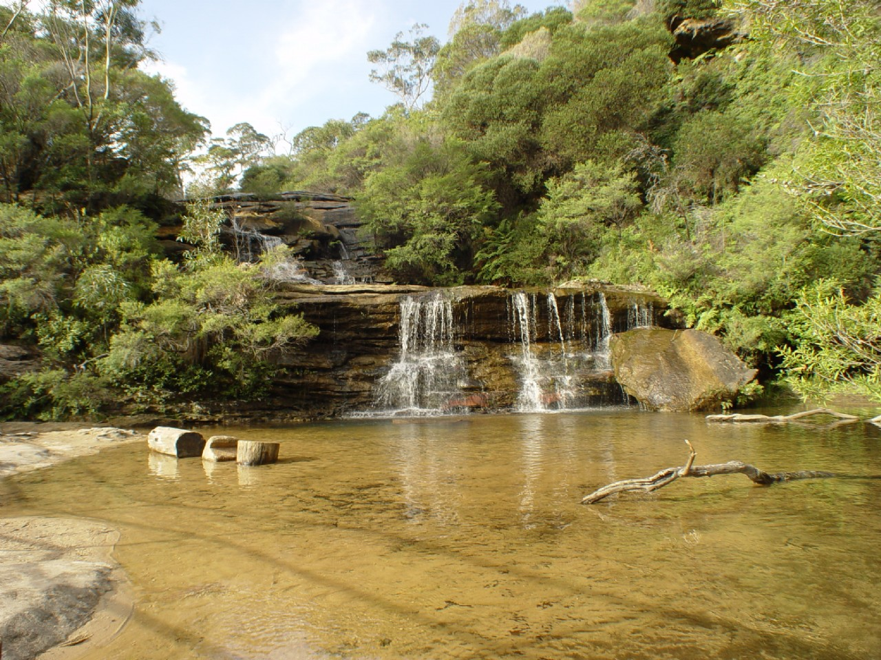 Thác nước Wentworth Falls - Blue Mountains