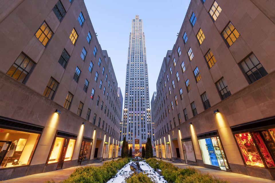 Trung tâm Rockefeller - Du lịch Mỹ Tết 2019