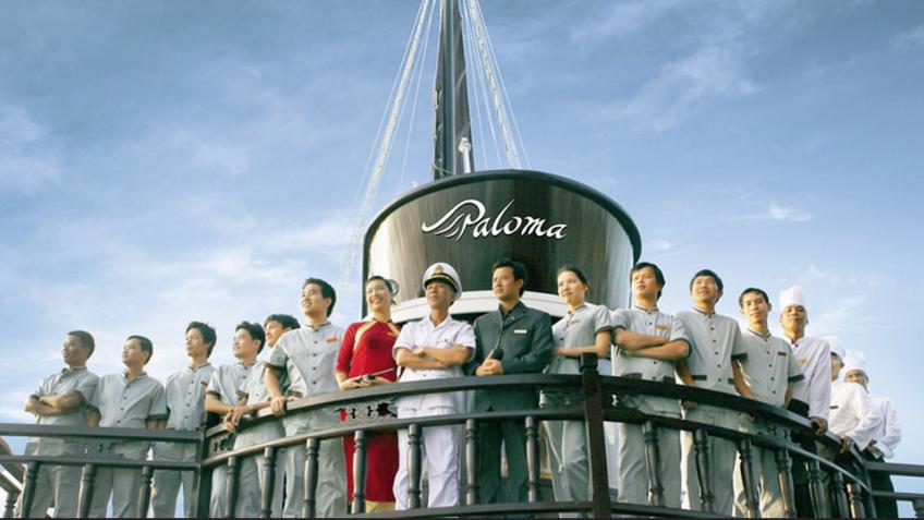 Du thuyền Paloma, Hạ Long