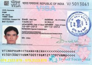 Dịch vụ làm Visa Ấn Độ giá rẻ; thủ tục đơn giản, nhanh gọn
