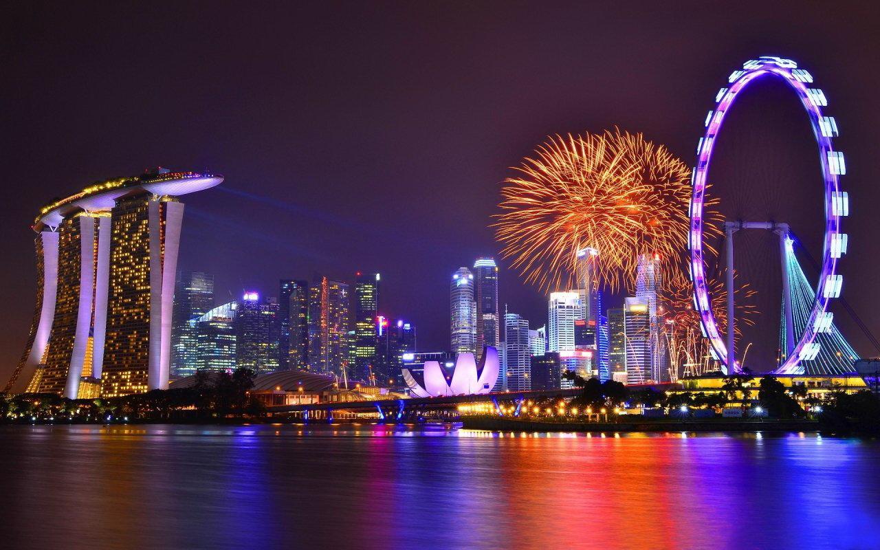 Không khí đón Tết tại Singapore