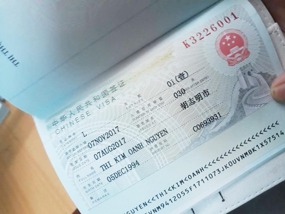 Dịch vụ làm visa Trung Quốc giá rẻ, thủ tục đơn giản