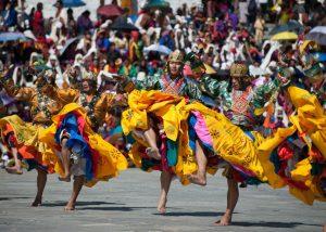 Lễ hội truyền thống tại Bhutan