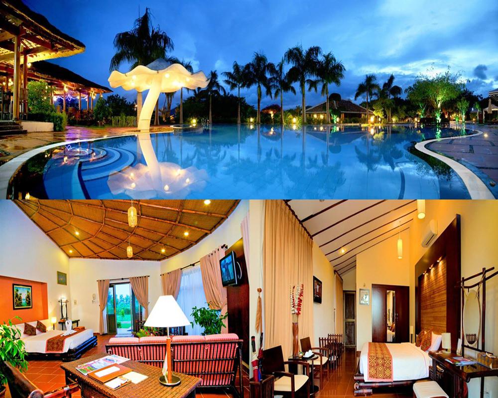 Combo 3N2Đ tại Phú Yên: VietStar Resort & Spa + Vé máy bay