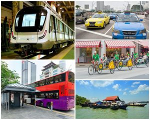 hướng dẫn đi lại khi du lịch Singapore