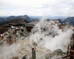 Khám phá thung lũng Owakudani