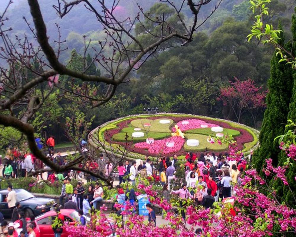 Tour Đài Bắc – Đài Trung – Đào Viên: Tắm khoáng Resort 5* South Garden
