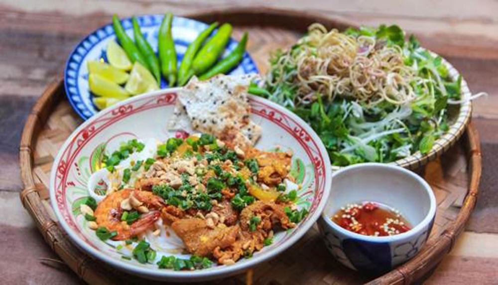 Món mì quảng ngon Đà Nẵng