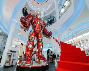 Quán cafe Marvel ở Thái Lan