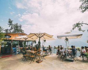Quán cafe tại Sapa