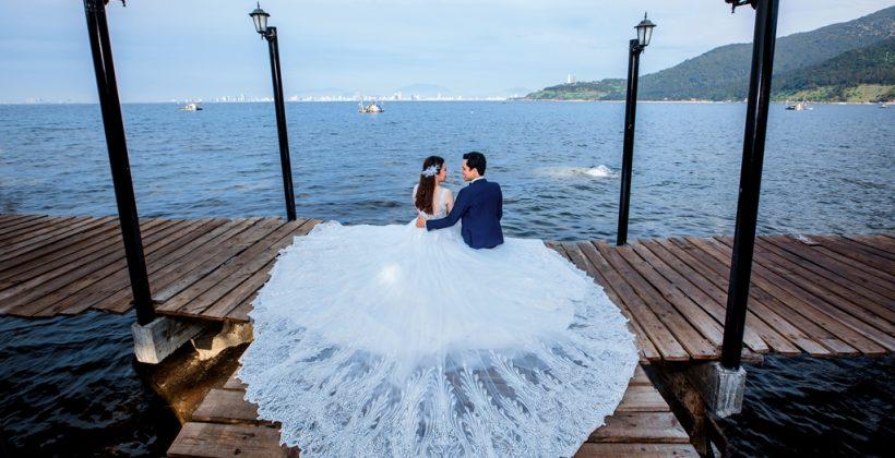 Chụp ảnh cưới tại bãi Đa