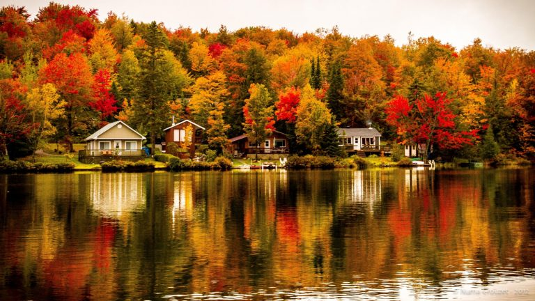 du lịch mùa thu canada