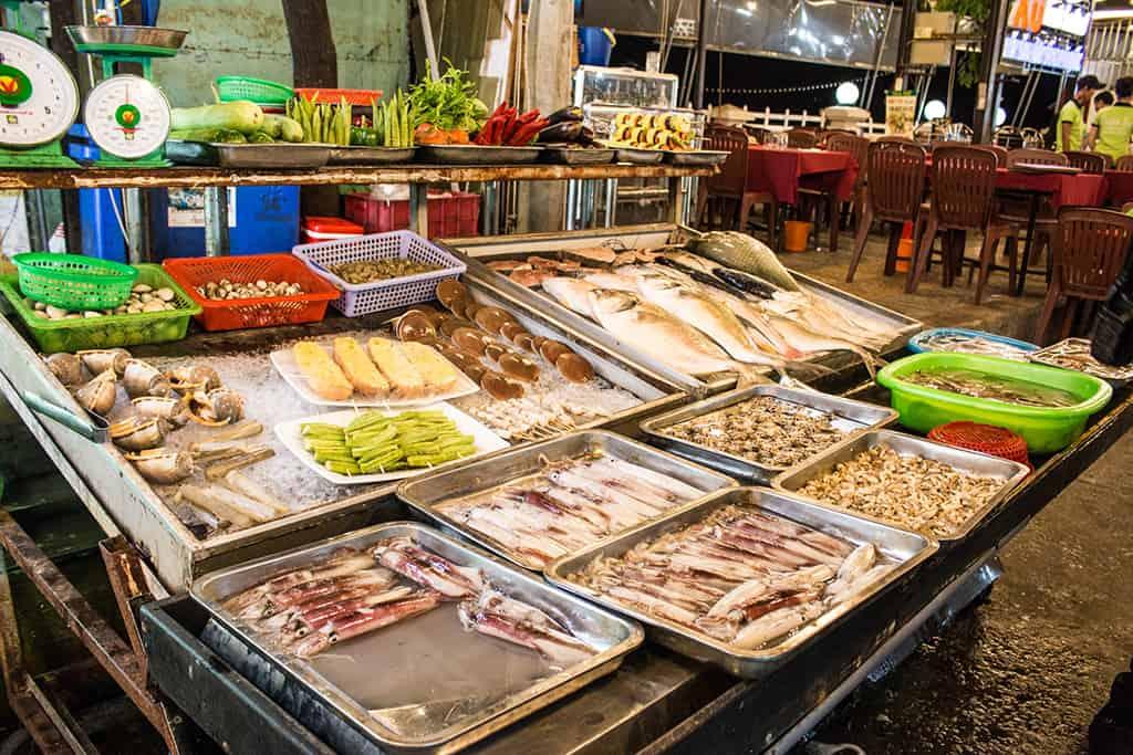 ẩm thực tại chợ đêm phú quốc