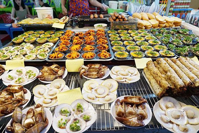 hải sản ở chợ đêm phú quốc