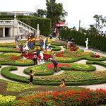 Thăm quan thiên đường các loài hoa – Vườn hoa Le Jardin D'amour