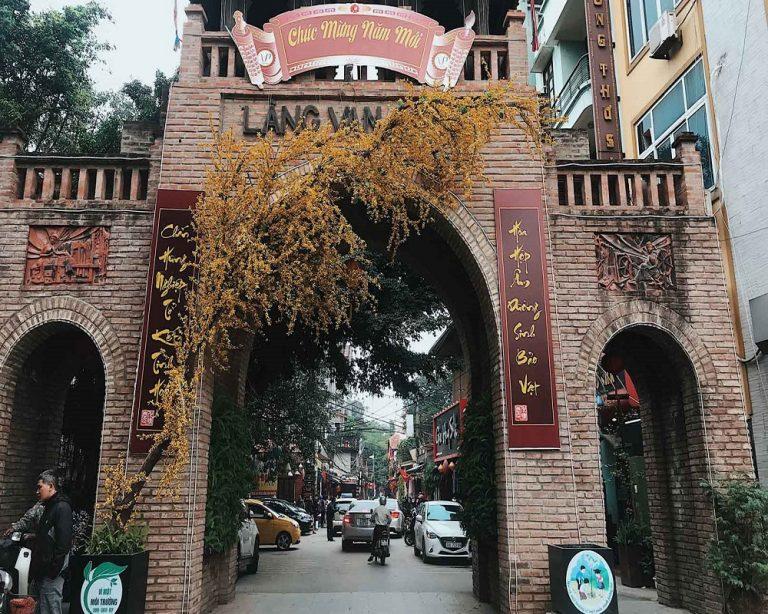 Du xuân 2020: Đường Lâm - Chùa Mía - Thành cổ Sơn Tây - Vạn Phúc