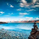 hồ nước mặn Namtso tại Tây Tạng
