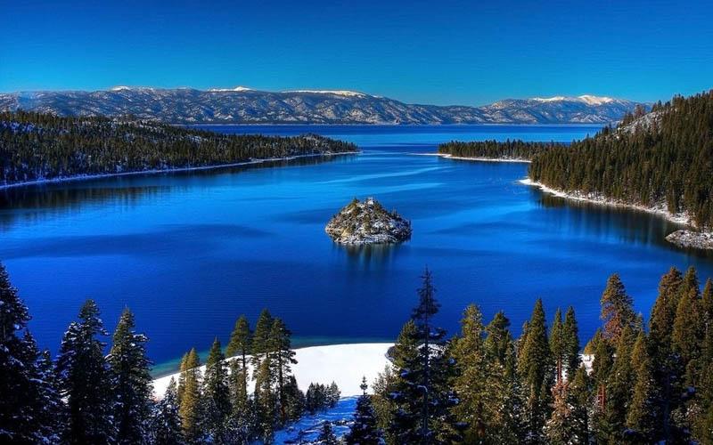 hồ nước đẹp nhất nước mỹ