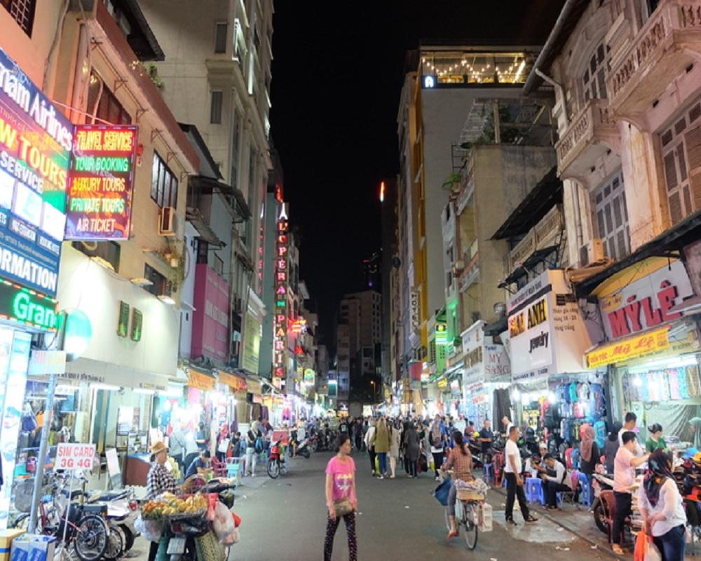 khu phố Mã Lai giữa Sài Gòn