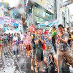 Tham gia lễ hội té nước Songkran Thái Lan đặc biệt hàng năm