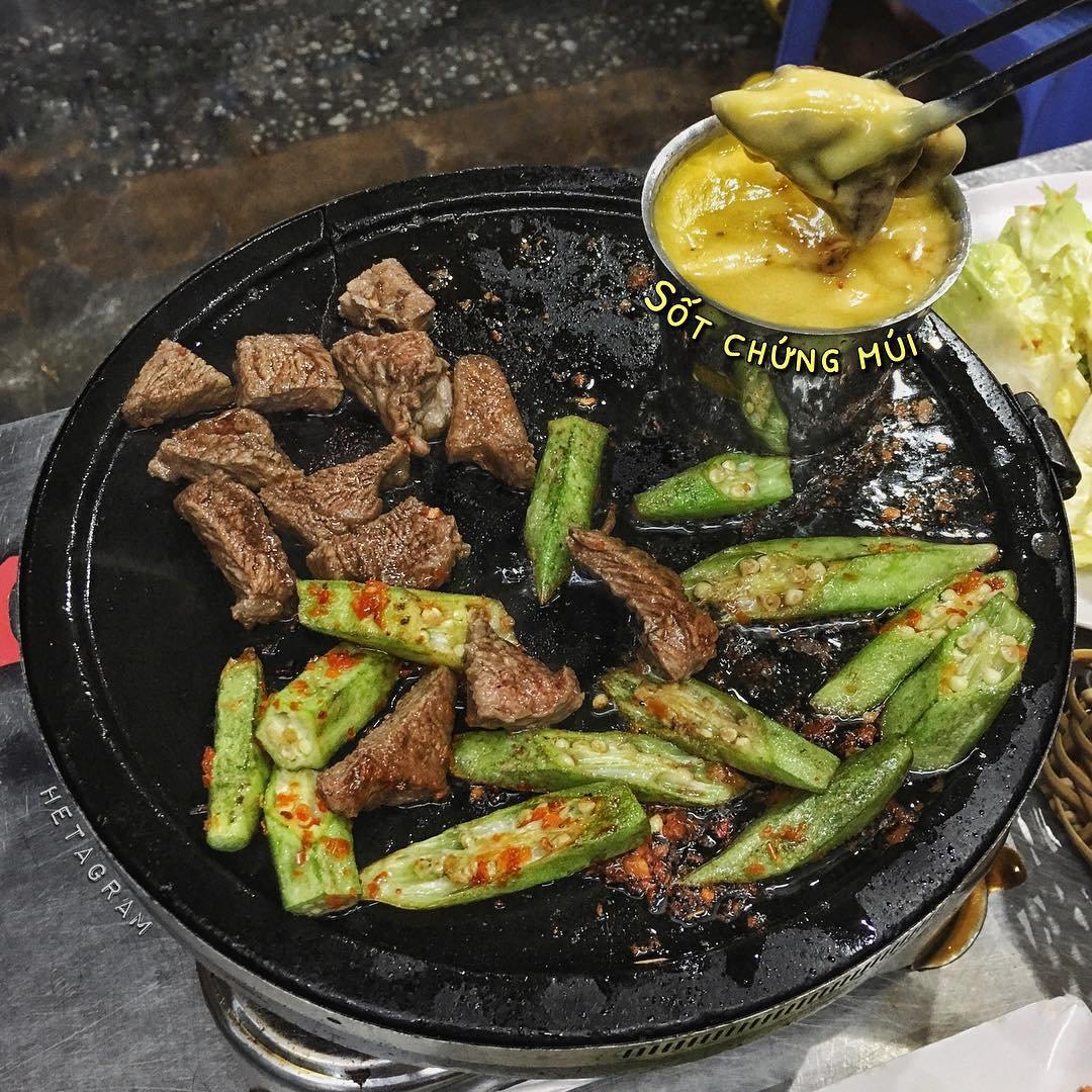 món ăn vặt tại 20 con đường ăn uống Sài Gòn