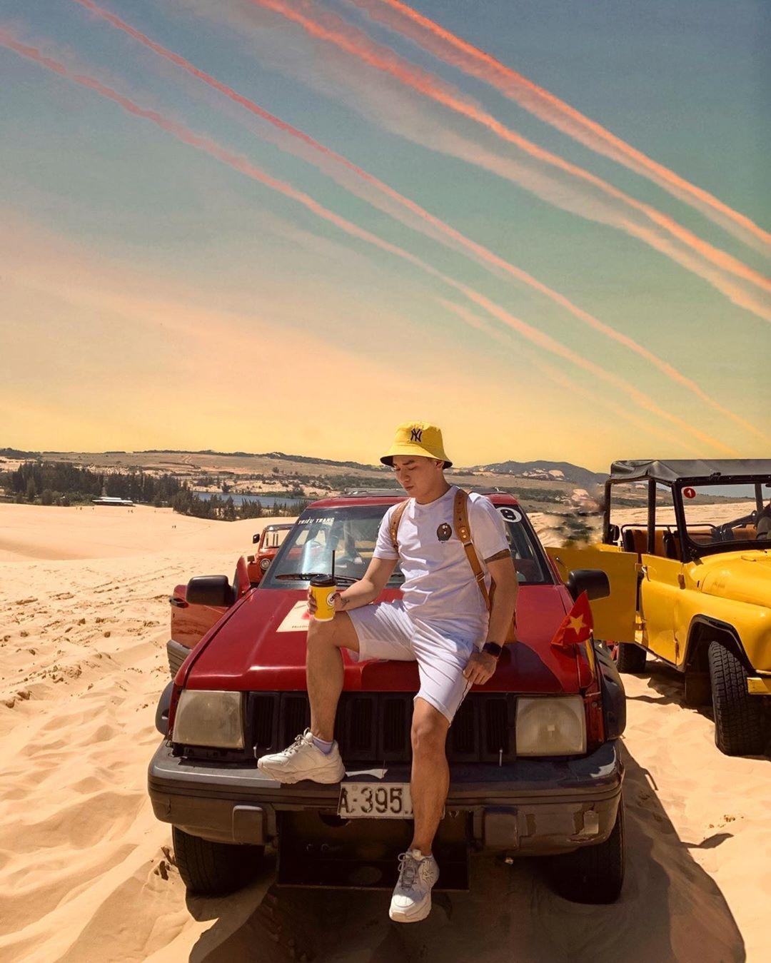 Những đồi cát tuyệt đẹp tại các tỉnh miền trung