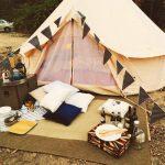 địa điểm cắm trại gần Hà Nội